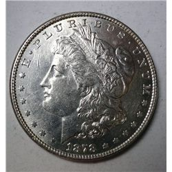 1878 7/8F MORGAN DOLLAR CHOICE BU EST. $135.00-$150.00