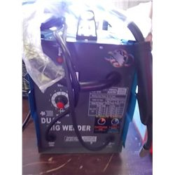 Chicago Electric Welding System model Dual Mig Welder 220 Volts Phase 1  Welding Amp Range 35 to 110