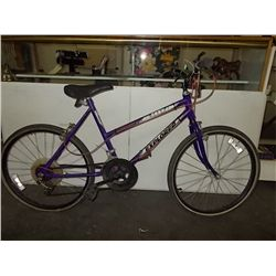 Murray Explorer Bike 10 Speed Purple 24