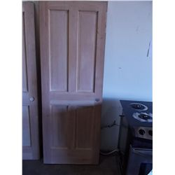 2/6 x 6/8 Solid Core 4-panel Door