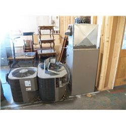 220 Volt Gas Heating and Air Conditioning Unit  2-Condensers