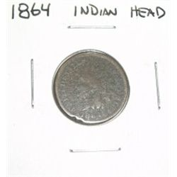 1864 INDIAN HEAD PENNY *VERY RARE - PLEASE LOOK AT PICTURE TO DETERMINE GRADE*!!