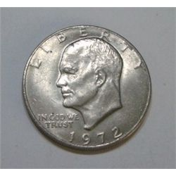 "1972 Eisenhower ""IKE"" Dollar *PEASE LOOK AT PICTURE TO DETERMINE GRADE*!!"