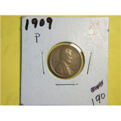 1909 P LINCOLN CENT
