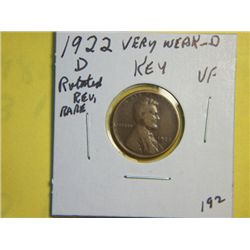 1922 LINCOLN CENT