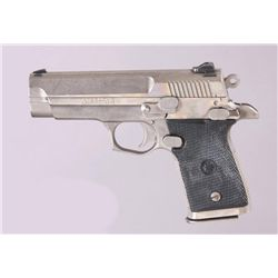 Star Mdl Firestar Cal 9mm SN:1937725Compact single action semi auto pistol  chambered in 9mm. Brushe