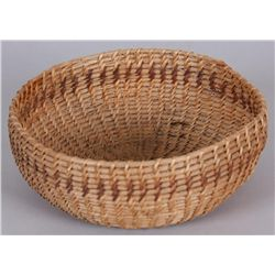 "Northern California Basket, Possibly Yuroc6 3/4"" round, in overall good condition,  shows age."