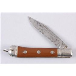 "Richard Sheffield England Marked Folding Knife1920s Era. 3 1/2"" blade, 8"" overall."