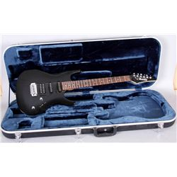 Ibanez Electric Guitar in Black Case