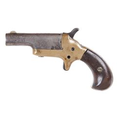 Colt 3rd Model Derringer Cal .41RF SN:15396Small pocket derringer chambered in .41  Rimfire. Bronze