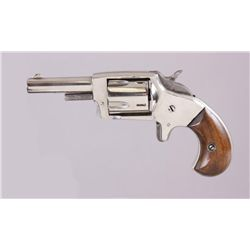 H&A Mdl Defender Cal .32 SN:357Single action spur trigger 5 shot revolver  chambered in .32 caliber.