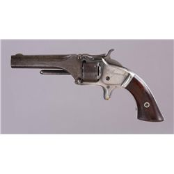 Smith & Wesson Mdl 1 Cal .22S SN:55903SIngle action spur trigger revolver chambered  in .22 short. N