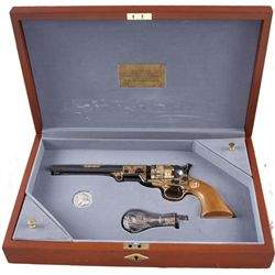 Robert E Lee Commemorative PistolIssued by th U.S. Historical Society. This is  an 1851 Navy Colt. I