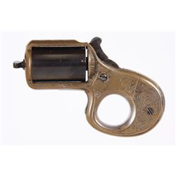"""James Reid Mdl """"My Friend"""" Cal .22 SN:11091Early model knuckle duster, 7 shot revolver  chambered in"""