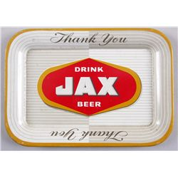 Original Tin Advertising Change Tray - Jax BeerJax Beer Co, from Jackson Brewing Co, New  Orleans, L