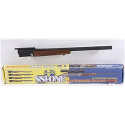 "Mossberg SSi-ONE Slug BarrelIn box 12 gauge 3 1/2"" rifled slug barrel,  24"" with blued finish. Porte"