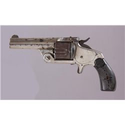 American Arms Mdl Top Break Cal .38 SN:18177Single action spur trigger revolver chambered  in .38 ca