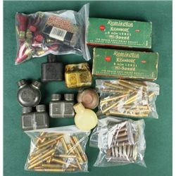Bonanza Lot of Ammo and OilersIncludes 8 mm caliber collector ammo of  numerous brands, dates, head 