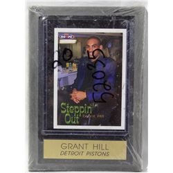"Collectible-Grant Hill Plaque ""Steppin' out"""