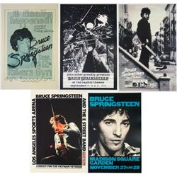5 Bruce Springsteen 12x18 Repro Concert & Album Posters