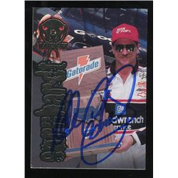 Dale Earnhardt Sr. Signed NASCAR Trading Card (GA COA)