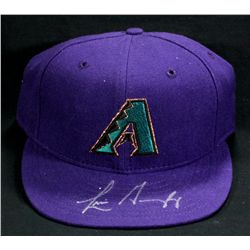 Luis Gonzalez Signed Diamondbacks Hat (Fleer COA)