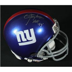 "Lawrence Taylor Signed Giants Mini-Helmet: Inscribed ""HOF 99"" (JSA COA)"