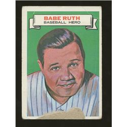 1967 Topps Who am I #12 Babe Ruth