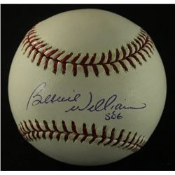 Bernie Williams Signed OML Baseball (JSA COA)