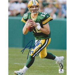 Aaron Rodgers Signed Packers 8x10 Photo (GA COA)