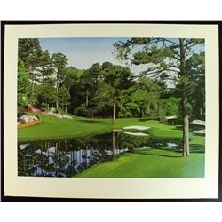 danny day signed the masters the 16th at augusta golf course le 32x25 lithograph 750 1000 loa. Black Bedroom Furniture Sets. Home Design Ideas