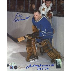 Johnny Bower & Eric Nesterenko Signed 8x10 Photo (SOP COA)