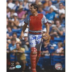 "Bob Boone Signed Angles 8x10 Photo: Inscribed ""4x All Star"" (SOP COA)"