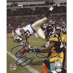 Reggie Bush Signed Saints 8x10 Photo (SOP COA)