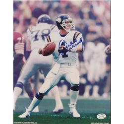 Archie Manning Signed Vikings 8x10 Photo (SOP COA)
