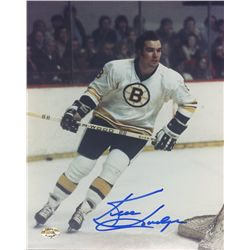 Ken Hodge Signed Bruins 8x10 Photo (SOP COA)