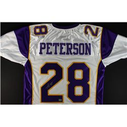 Adrian Peterson Signed Vikings Jersey (AAA COA)