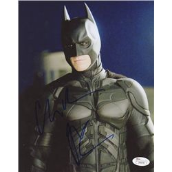 "Christian Bale Signed ""Batman"" 8x10 Photo (JSA COA)"