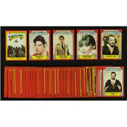 Set of 1980 Topps Superman II Picture Cards