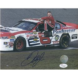 Dale Earnhardt Jr Signed NASCAR 8x10 Photo (JSA)