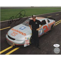 Dale Earnhardt Sr Signed NASCAR 8x10 Photo (JSA)