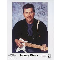 "Johnny Rivers Signed 8x10 Photo: Inscribed ""Best Wishes"" (JSA)"