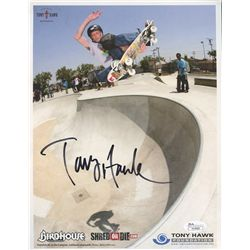 Tony Hawk Signed 8x10 Photo (JSA)
