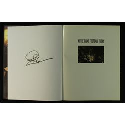 "Joe Theismann Signed Notre Dame Hardback Book: ""Football Today"" (PA LOA)"