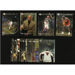 Lot of (30) 1998 Michael Jordan MJ Reflections Basketball Cards