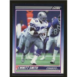 1990 Score Supplemental #101T Emmitt Smith RC