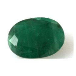 Natural 1.04ctw Emerald Oval Cut Stone