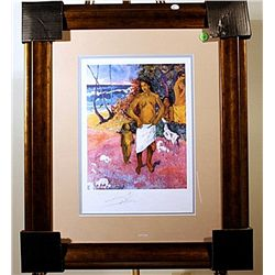 Bathers  - Gaujuin - Signed Lithograph