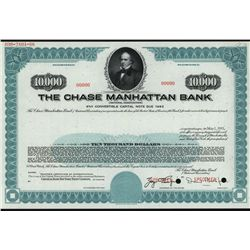 Chase Manhattan Bank Specimen Bond.