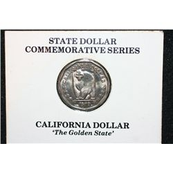 "1979 State Dollar Commerative Series-Not Legal Tender; California Dollar ""The Golden State"""